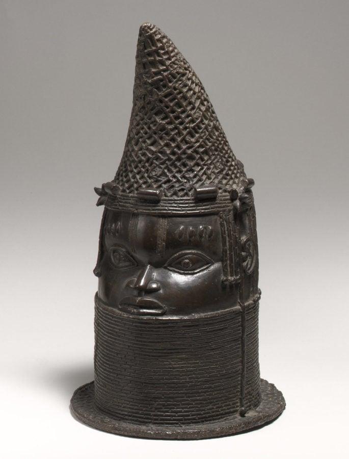 Queen Mother's Head, 18th century, Benin, Met Museum, art of the kingdom of benin