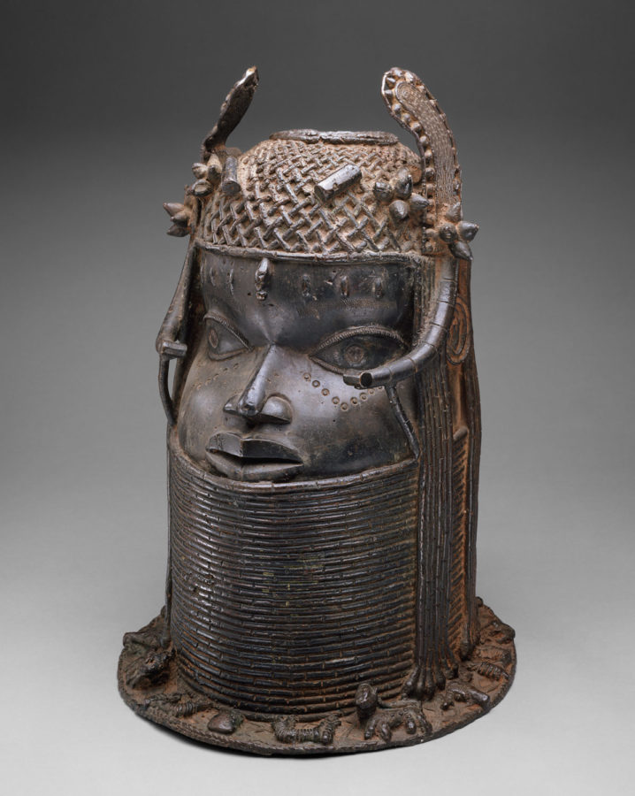 Head of an Oba, 19th century, Benin, Met Museum, art from the kingdom of benin