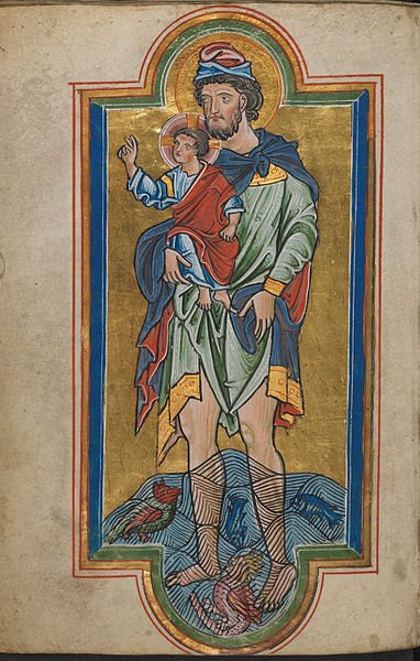 Medieval Representations of Saint Christopher