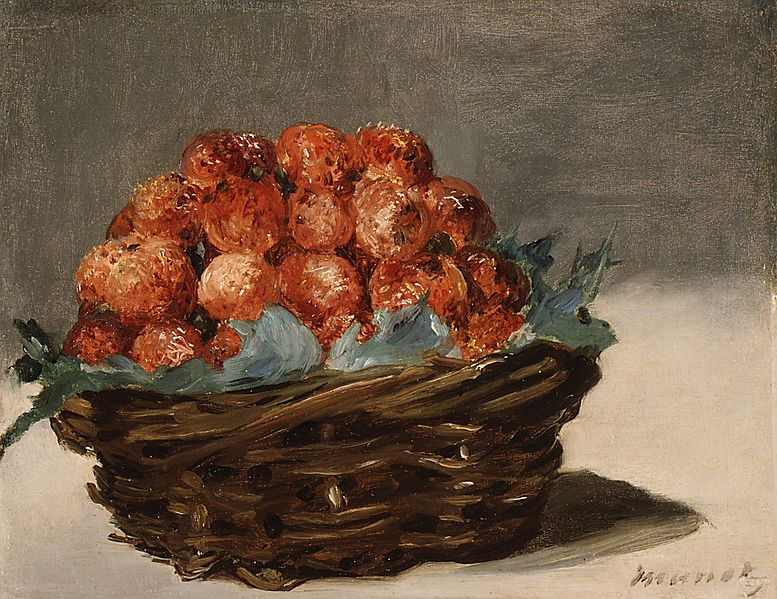 Strawberry Paintings