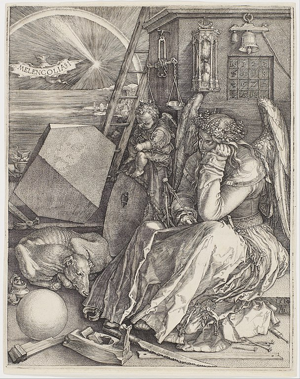 Albrecht Dürer, Melencolia I, 1514, Minneapolis Institute of Art