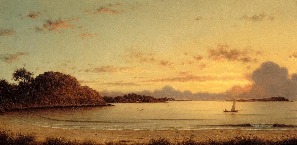 Dawn by Martin Johnson Heade Luminist