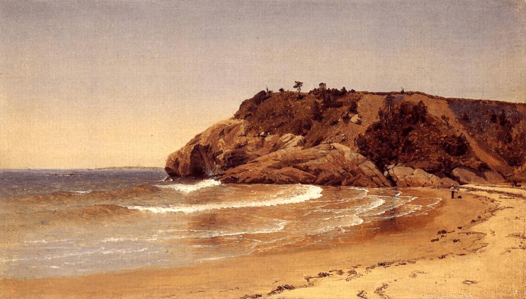 Manchester Beach by Sanford Robinson Gifford Luminist