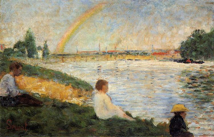 Georges Seurat, Rainbow, 1883, National Gallery, London, UK