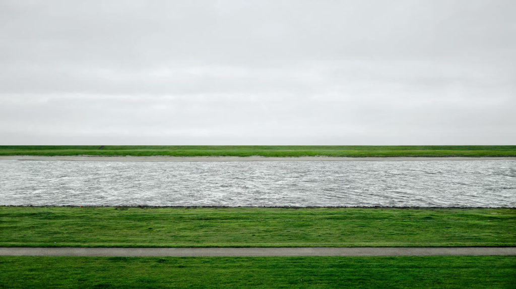 Andreas Gursky's Rhine
