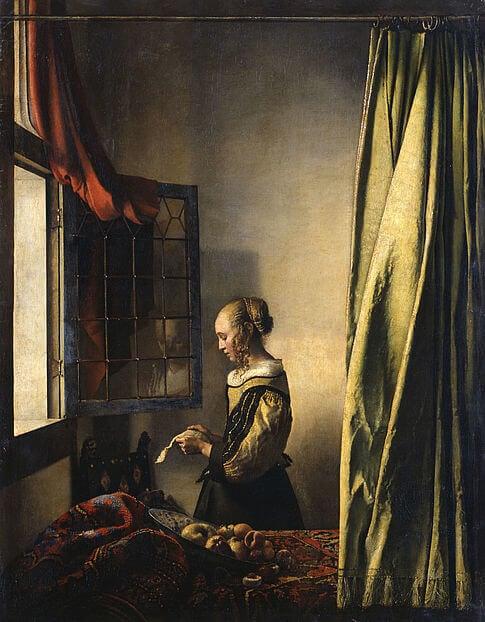 Dresden Vermeer un-restored