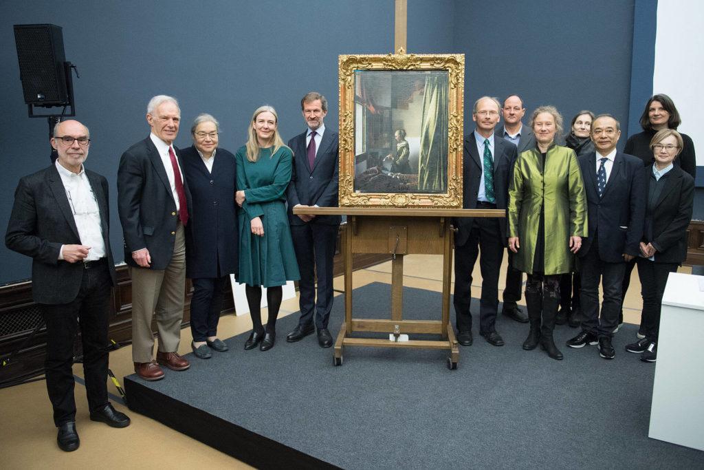 Dresden Vermeer press conference