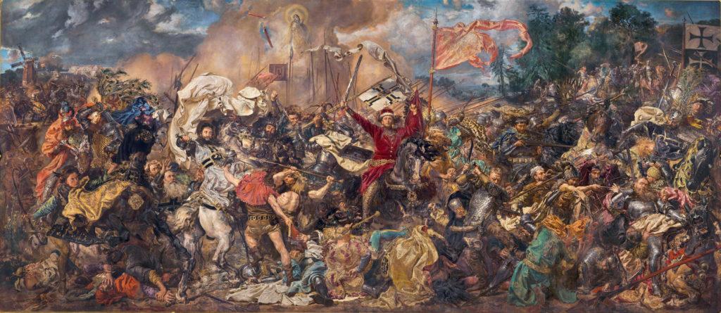 Jan Matejko, Battle of Grunwald, 1878, National Museum in Warsaw, Warsaw, Poland.