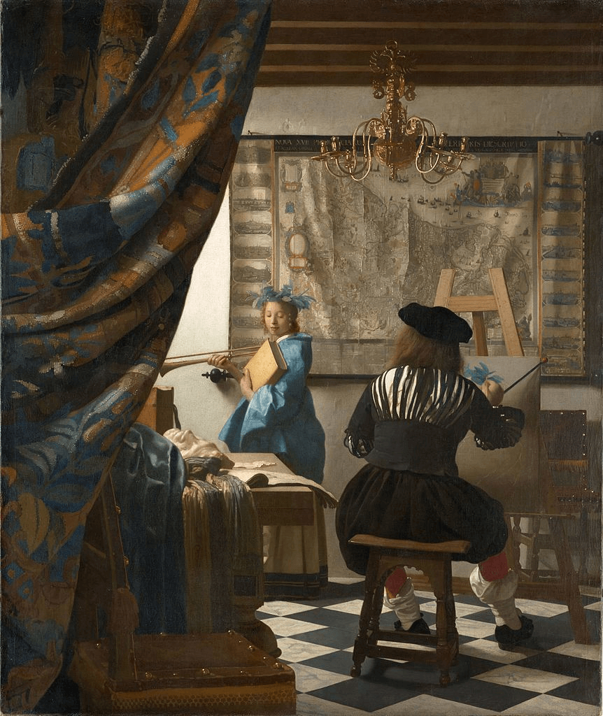 Johannes Vermeer, The Art of Painting