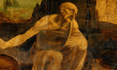 Leonardo's Saint Jerome Praying in the Wilderness cover
