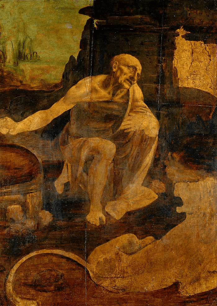 Leonardo's Saint Jerome Praying in the Wilderness