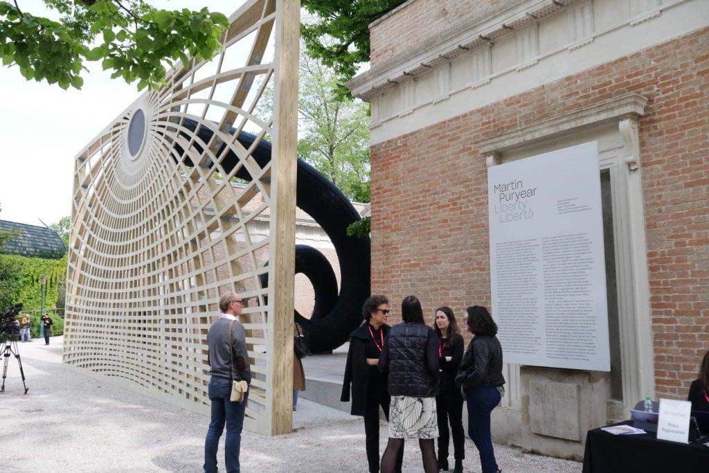 U.S. Pavilion Venice Biennale