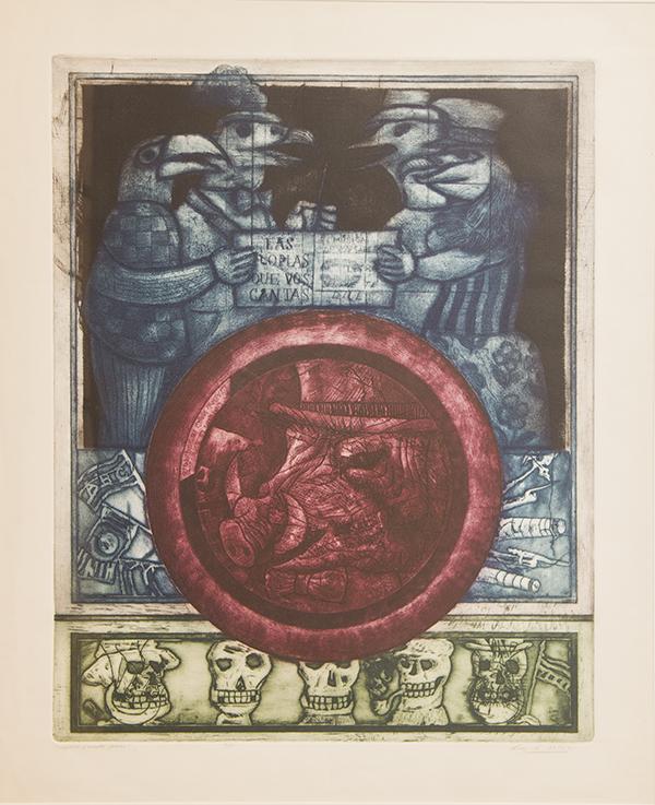 Luis Alberto Solar, Allegories and Happy Deaths, NA, Salvador Allende Museum, Santiago; salvador allende museum