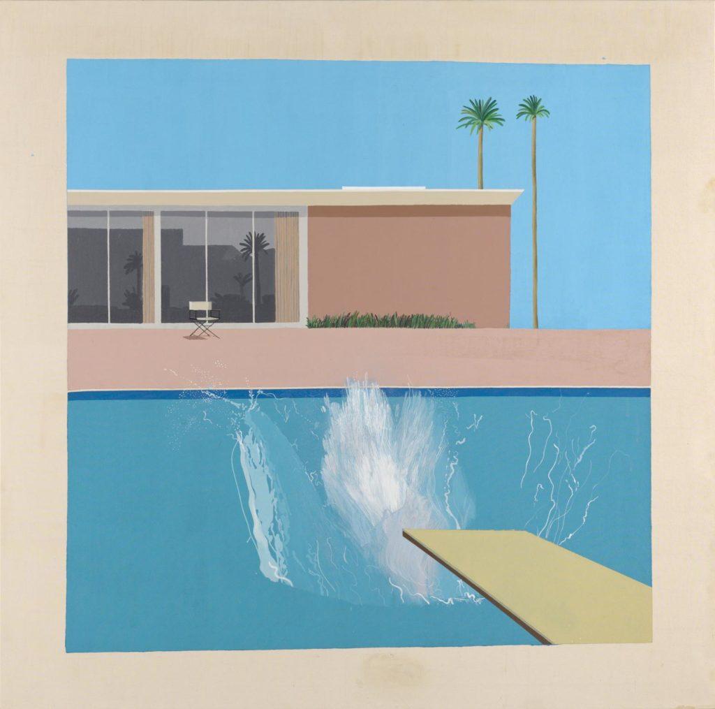 A Bigger Splash; David Hockney iPad