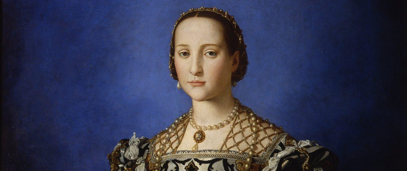 Agnolo Bronzino, Eleonora di Toledo and her son, c. 1545, Uffizi, Florence - Bronzino and his women