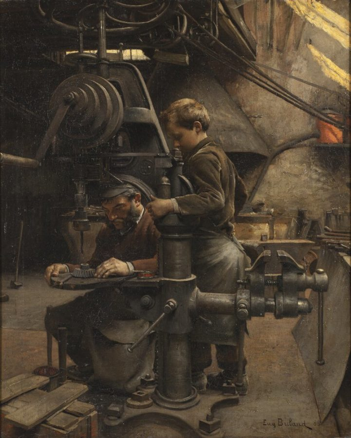 Artists and Industrial Revolution