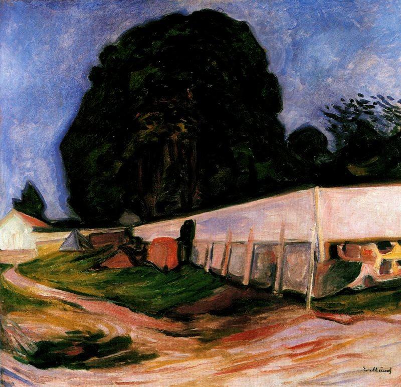 Edvard Munch's Summer Nights