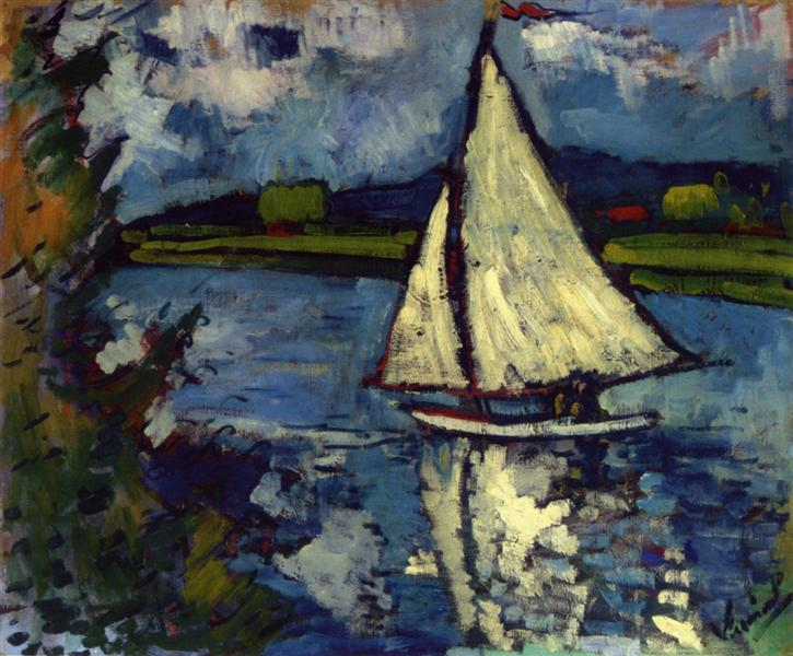 Sailing in Painting