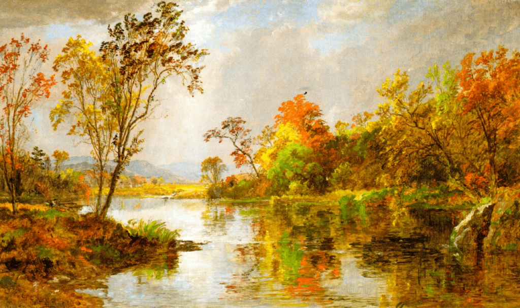An Autumn Morning by Jasper Cropsey