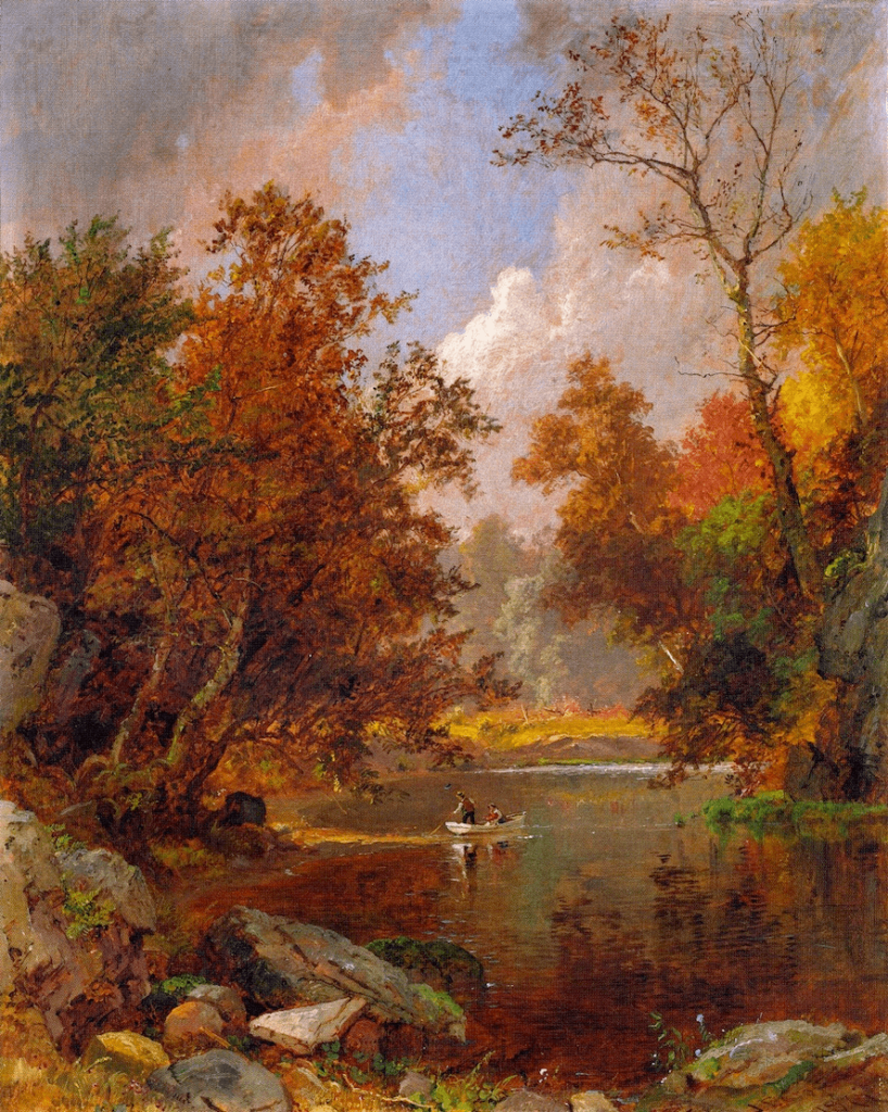 Autumn on the River by Jasper Cropsey