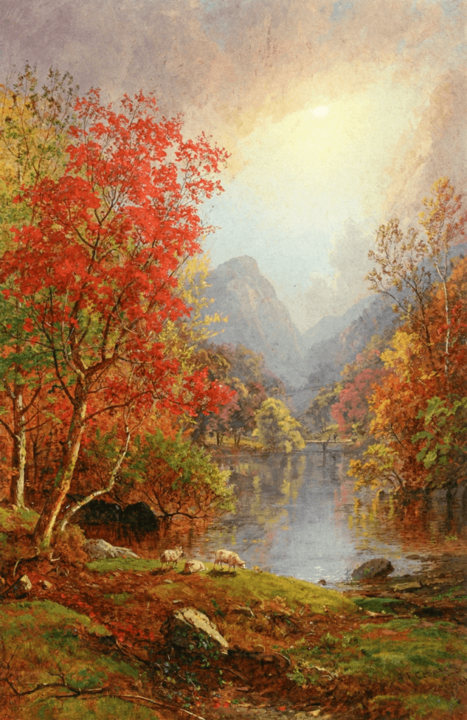 In the Ramapo Valley by Jasper Cropsey