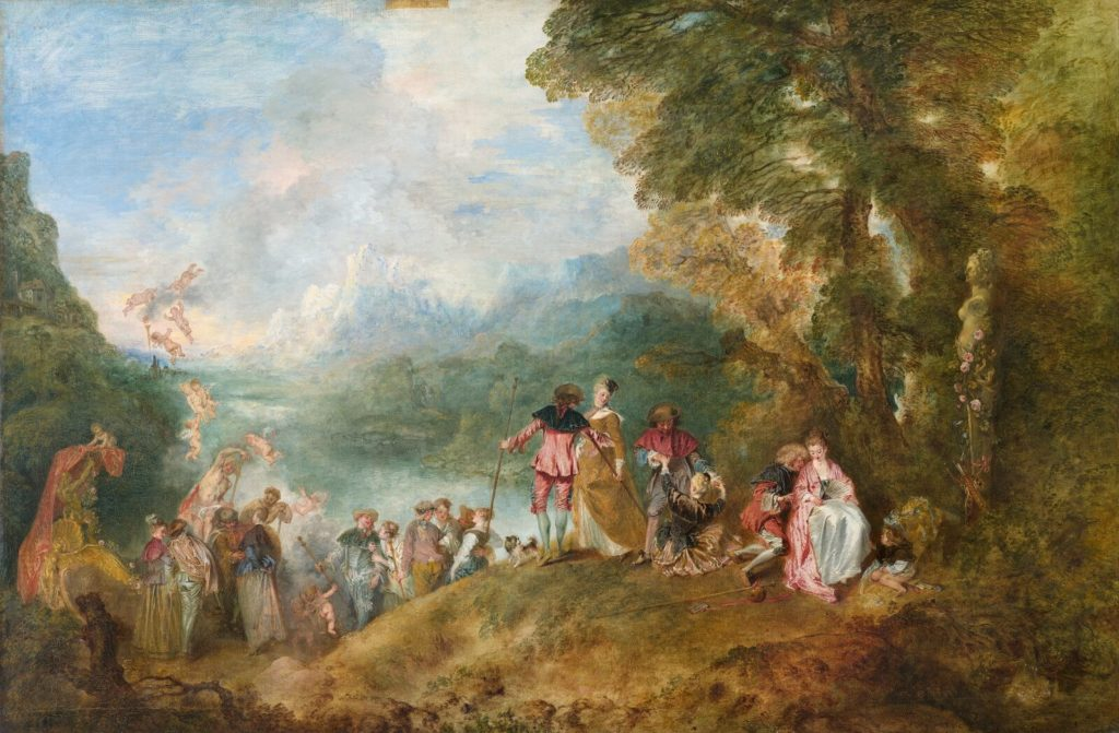 Watteau Pilgrimage to the Isle of Cythera