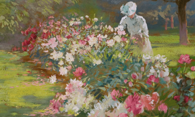 Peonies (detail) by Matilda Browne