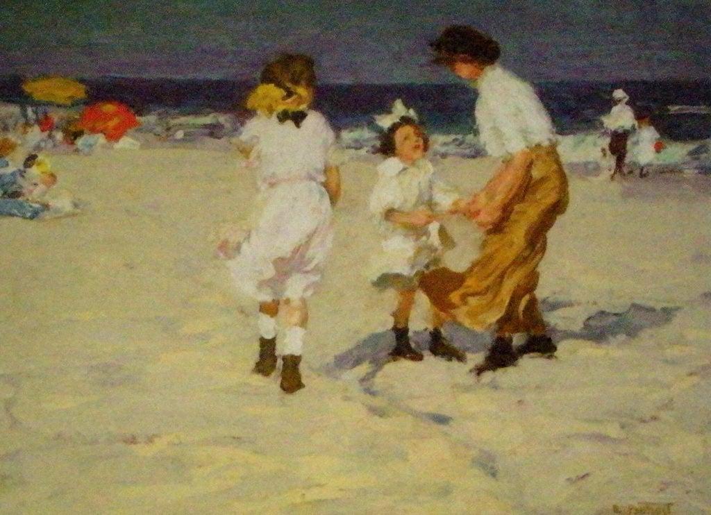 Ocean Breezes by Edward Henry Potthast