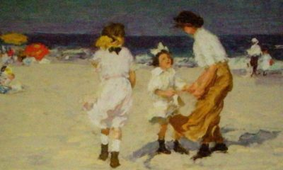 Ocean Breezes (detail) by Edward Henry Potthast