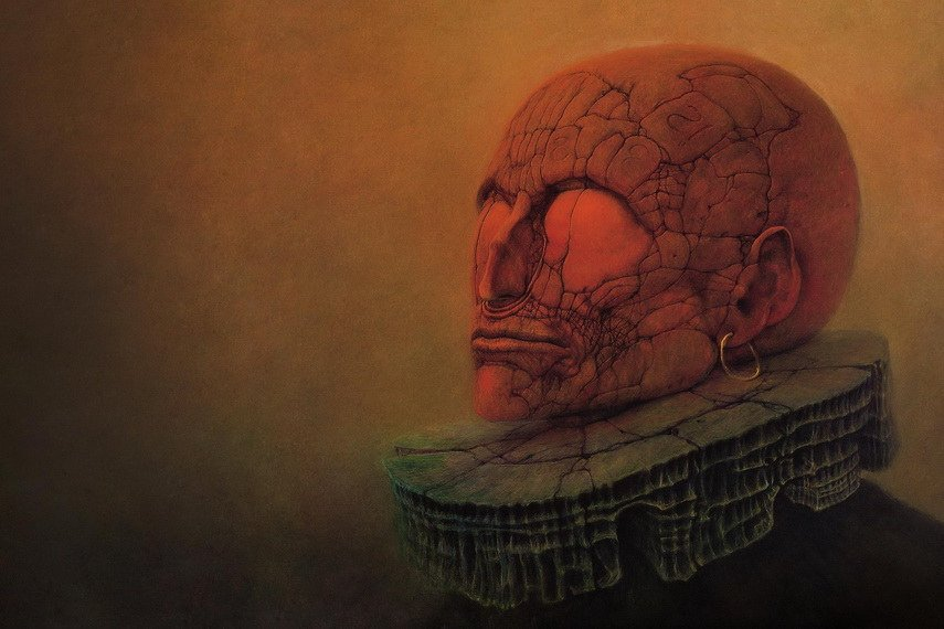 The Dystopian Surrealism of Zdzislaw Beksinski Artists\u0027 Stories