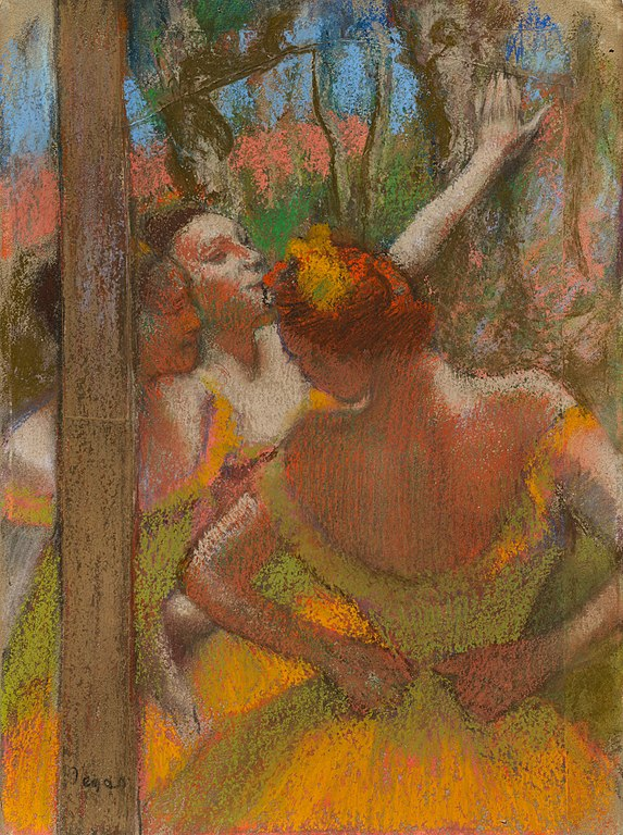Edgar Degas, Dancers, 1896, The Cleveland Museum of Art, Cleveland, OH, USA.