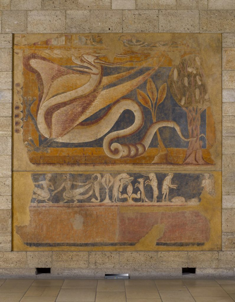 Spanish dragon fresco