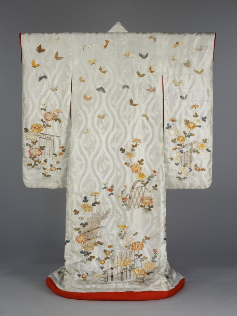 Kimono, Japan, 1800-1870, Given by Mrs Mockett, © Victoria and Albert Museum, London, kimono, V&A, Japan