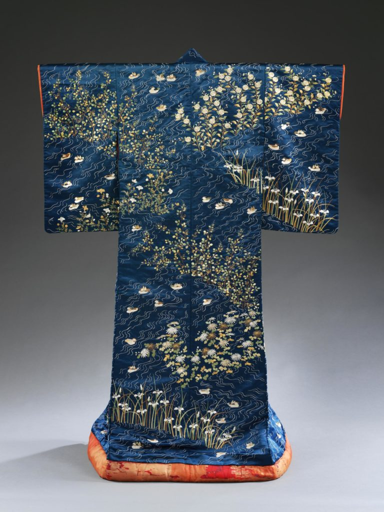Kimono, Japan, 1840-1870, Given by Mr T. B. Clark-Thornhill, © Victoria and Albert Museum, London, V&A, Kimono, Japan