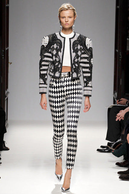 Balenciaga S/S 2013, photo: Vogue.artistic inspiration of Balenciaga