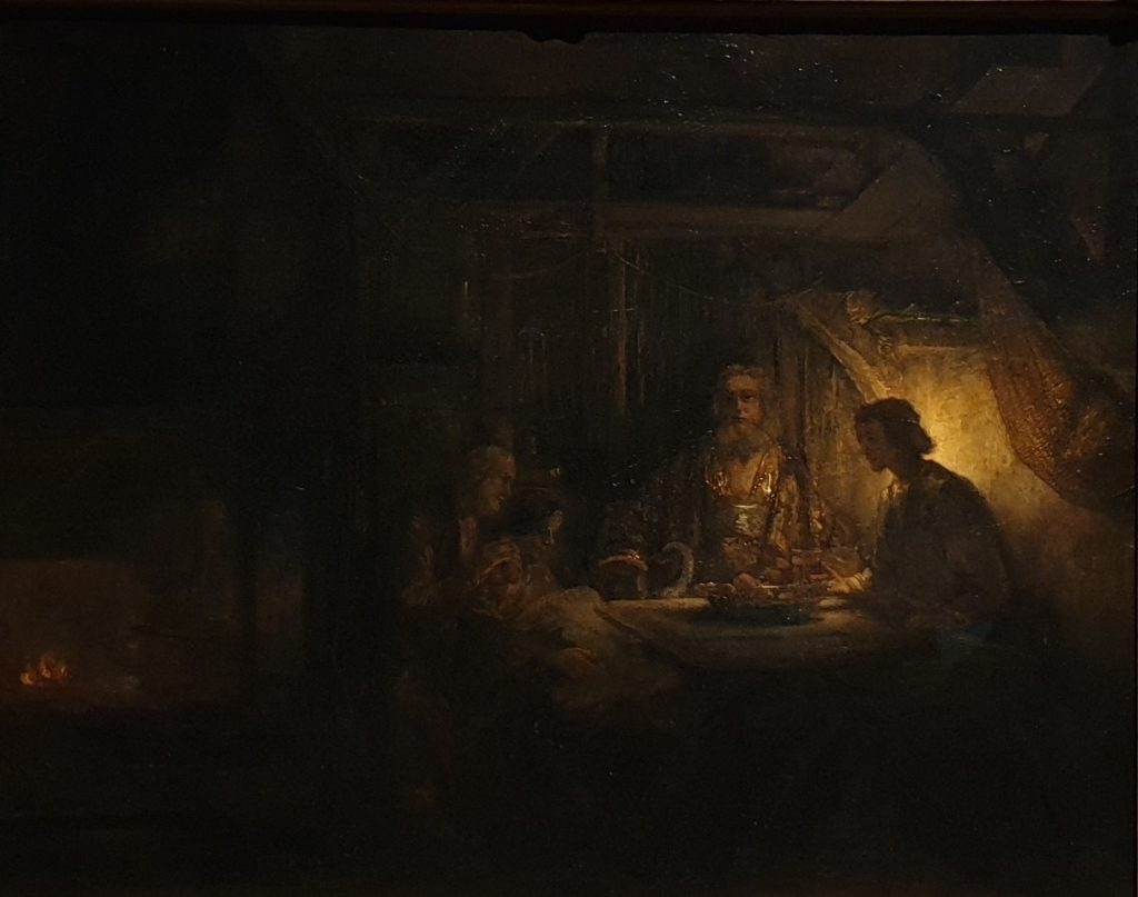 Rembrandt, Philemon and Baucis 1658, National Gallery of Art, Washington, phot. Joanna Kaszubowska - Dulwich Picture Gallery