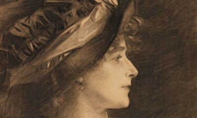 Sargent's Charcoal Portraits cover