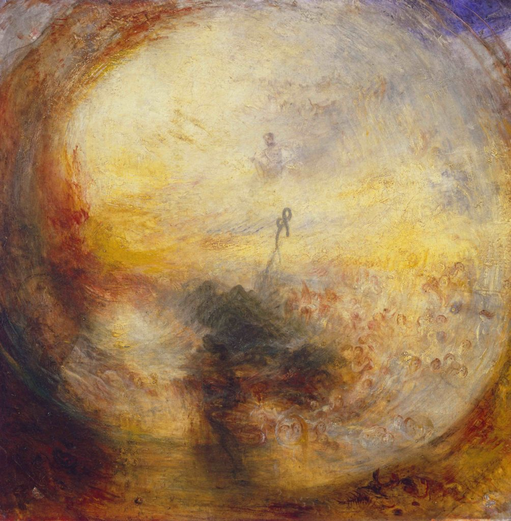 Turner's changes in technique