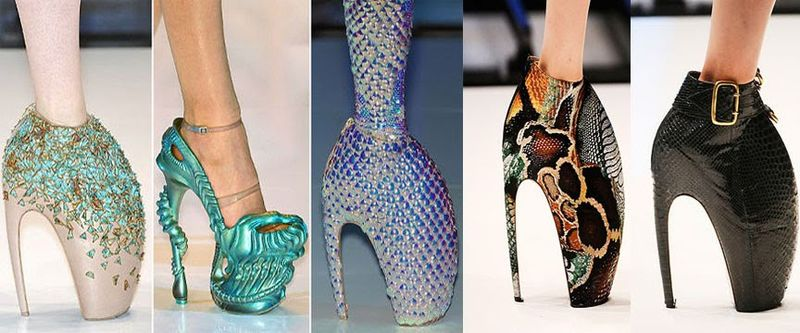 """""""Armadillo"""" shoes from Plato's Atlantis, S/S 2010. Source: Stylize."""