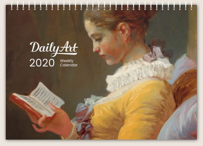 Daily Art, Weekly Desk Calendar; Christmas Gifts from Museums