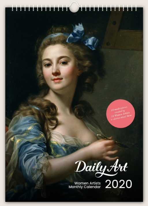Daily Art, Women Artists Monthly Wall Calendar; Christmas Gifts from Museums