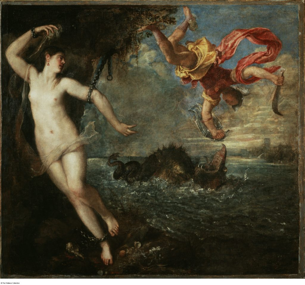 Titian's Perseus and Andromeda