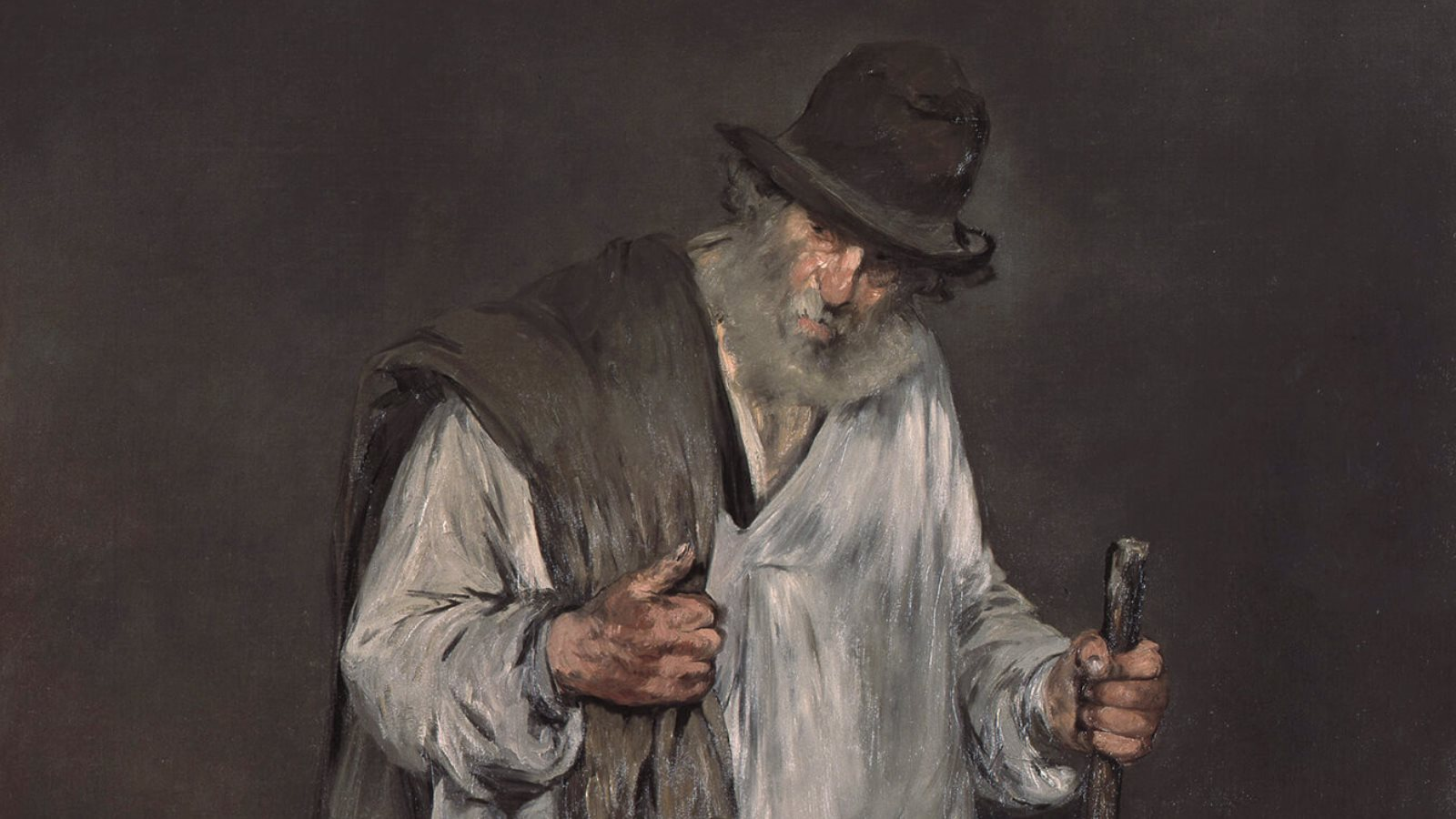 The Ragpicker by Edouard Manet