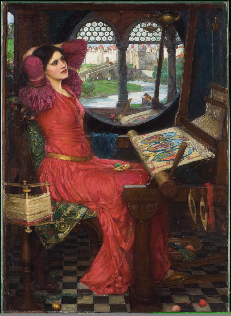 Waterhouse Lady of Shallot