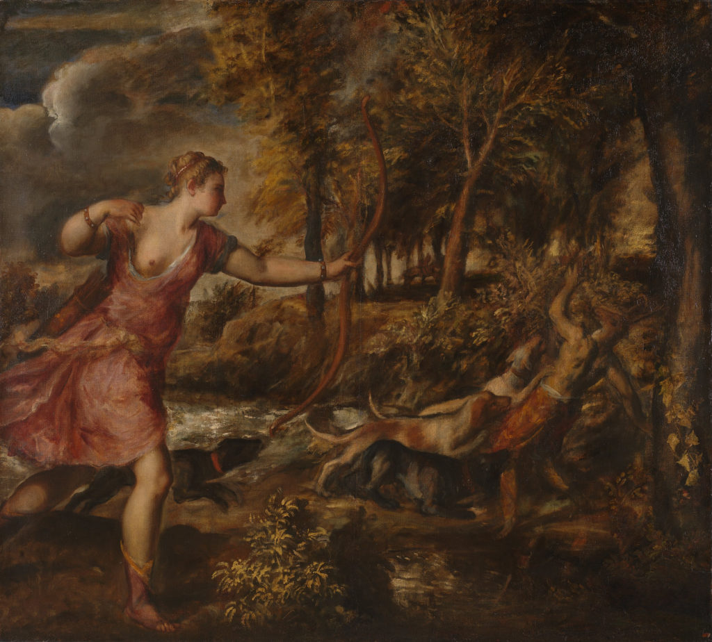 Titian's The Death of Actaeon