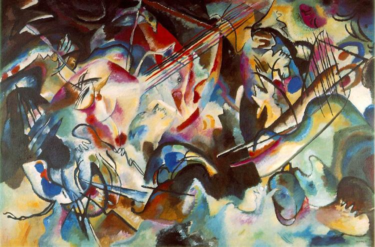 Dissonance in Kandinsky's Paintings