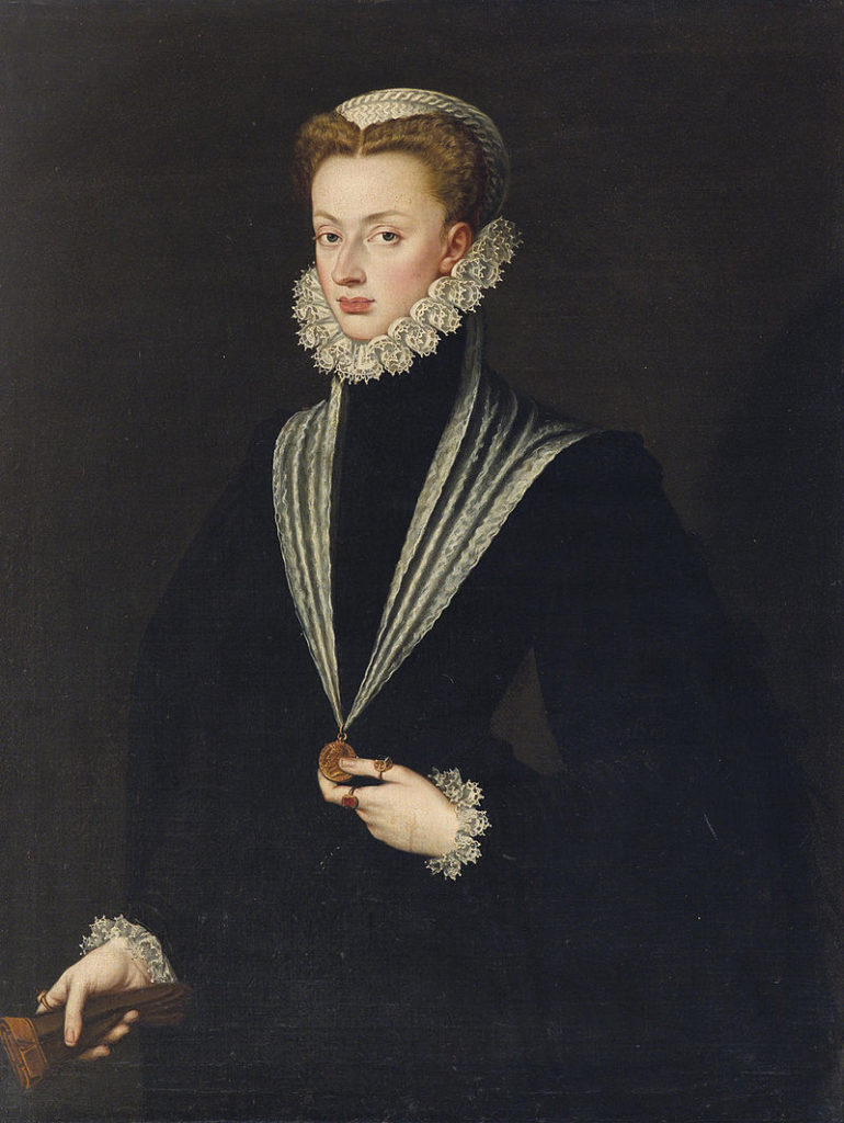 Sofonisba Anguissola, Portrait of Joanna of Austria, Princess of Portugal, c.1550, private collection.