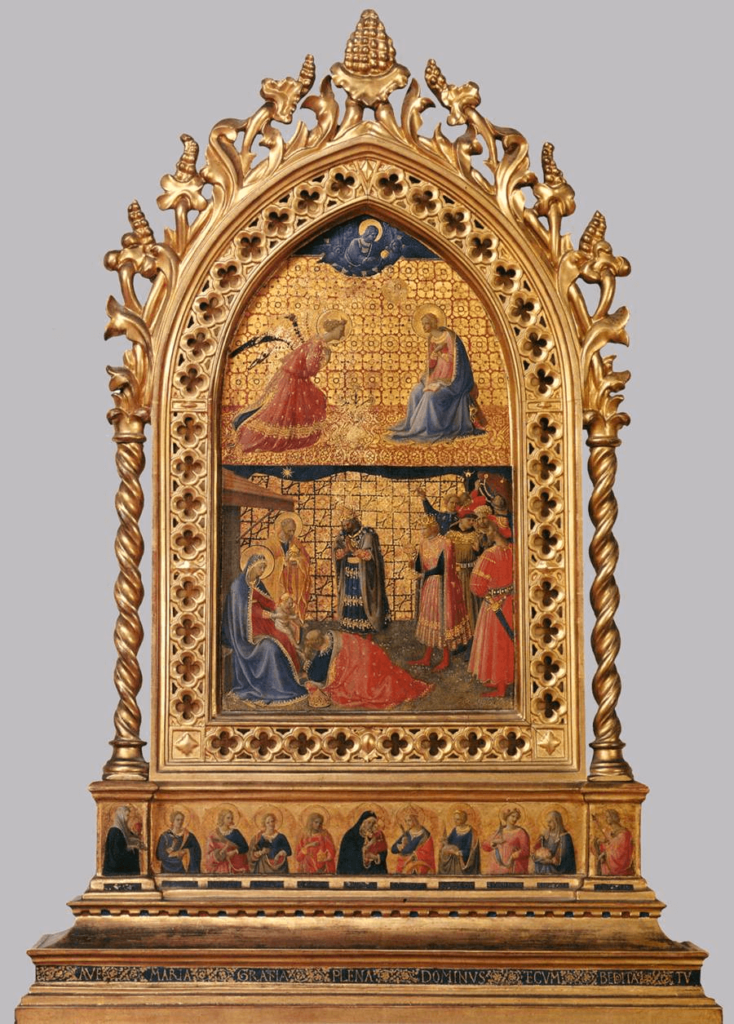 Fra Angelico, Annunciation and Adoration of the Magi