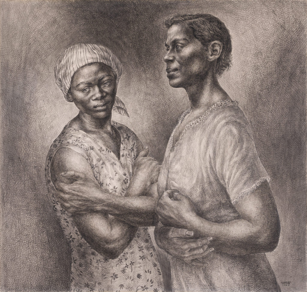 Charles White, Oh Mary Don't You Weep, 1956, Crystal Bridges Museum of American Art, Bentonville, USA.