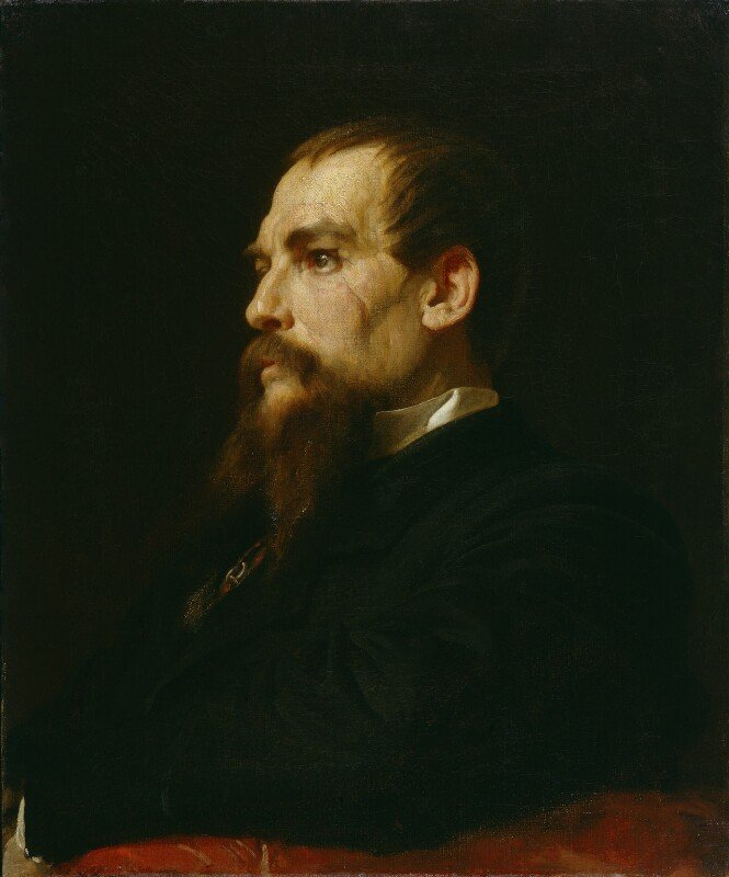 Frederic Leighton, Sir Richard Francis Burton, 1872-1875, © National Portrait Gallery, London - Around the world with National Portrait Gallery